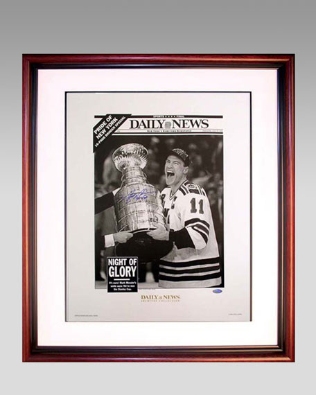 Mark Messier Daily News Framed Photograph