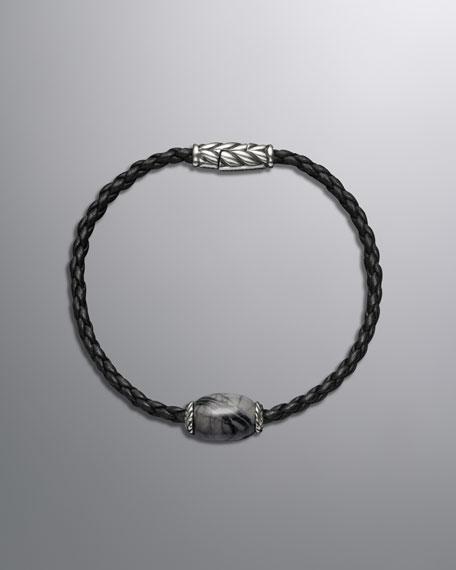 3mm Picasso Jasper Ojime Bracelet