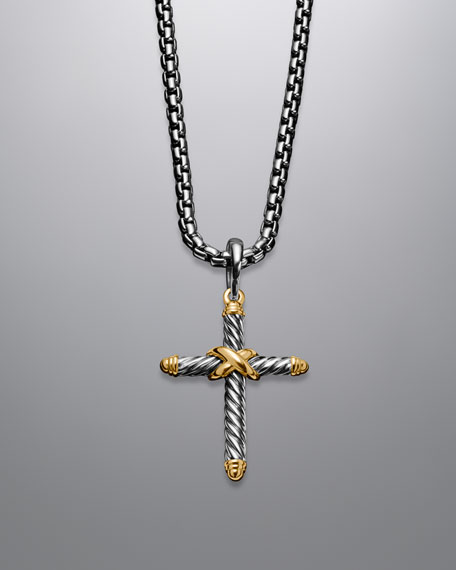 X Cross with Gold
