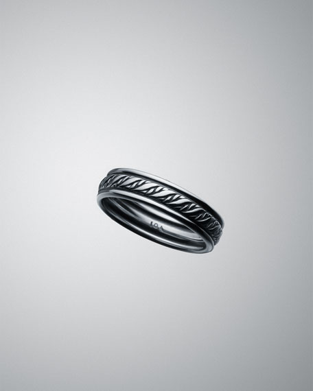 Thin Cable Classics Braided Ring