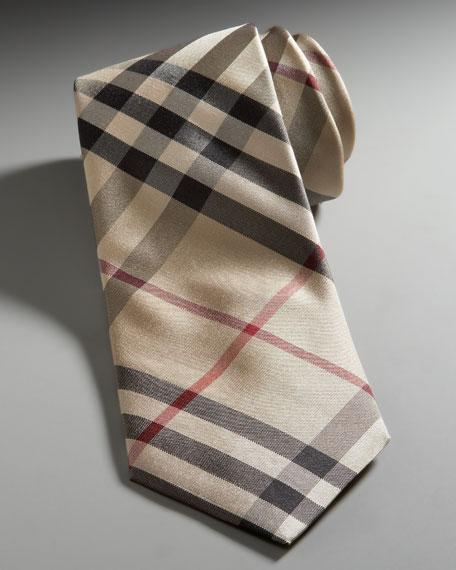 Classic Check Skinny Tie