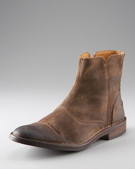 Renwick Suede Zip Boot