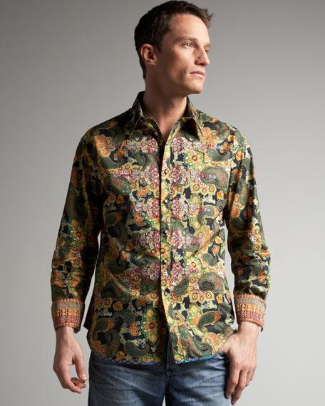 Limited Edition Captain Soul Paisley-Print Shirt