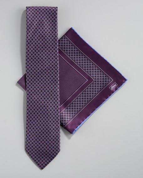 Octagon Tie & Pocket Square Set