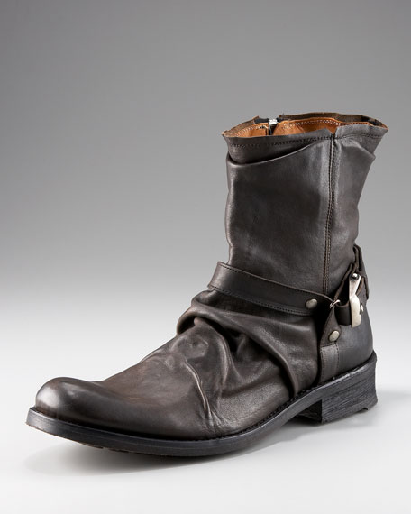 Winter Slouch Buckle Boot