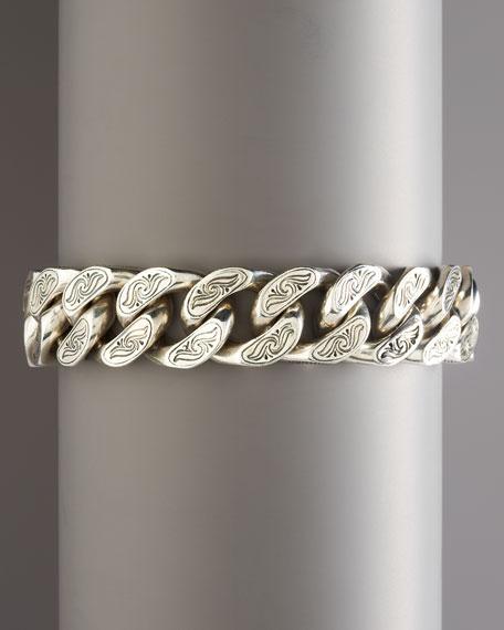 Chunky Etched Bracelet