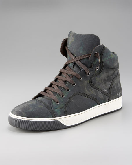 Camouflage High-Top