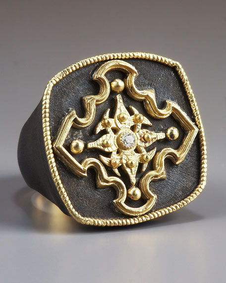 Pointed Cross Ring