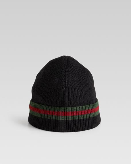 Knit Cap, Black