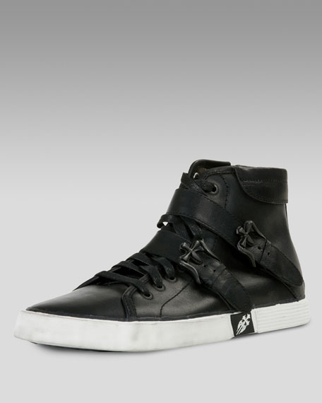 Facility Leather Sneaker