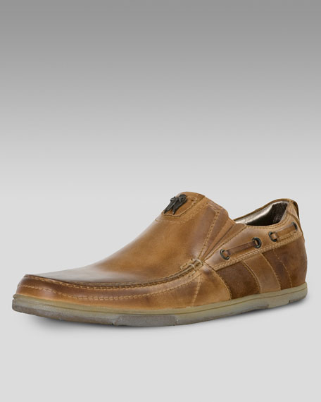 Frequent Leather Slip-On
