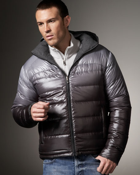 Reversible Down Puffer Jacket