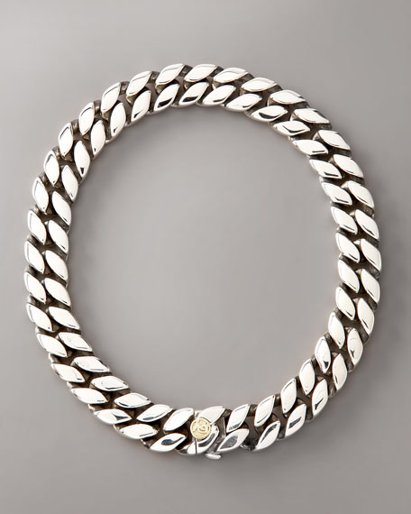 Narrow Curb Chain Bracelet
