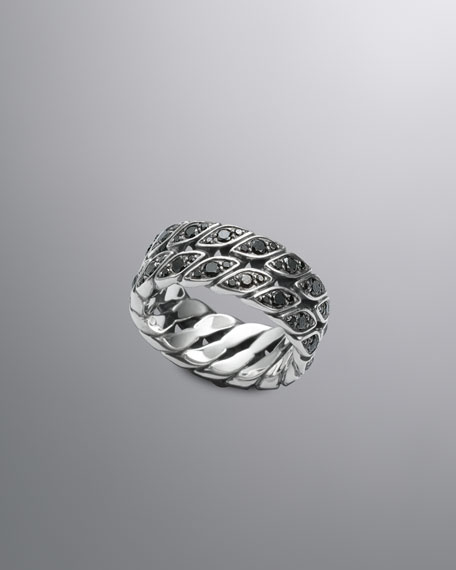 Curb Chain Ring, Black Diamond, 9.8mm