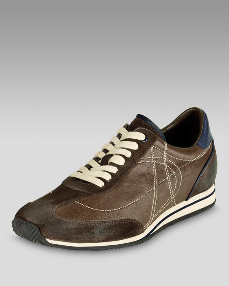 Air Jupiter Sneaker, Dark Brown