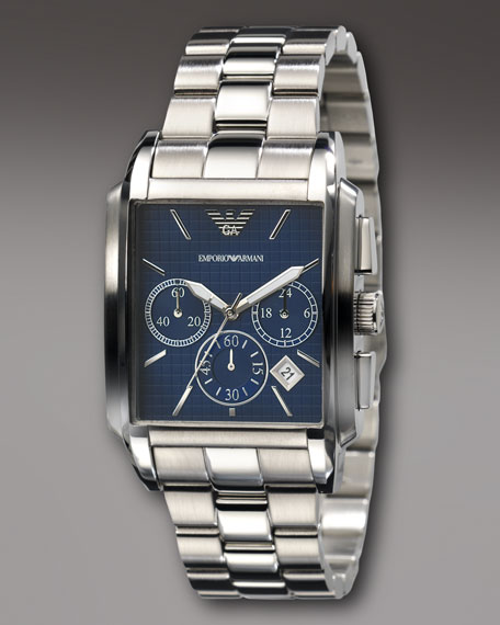 Square Chronograph Watch