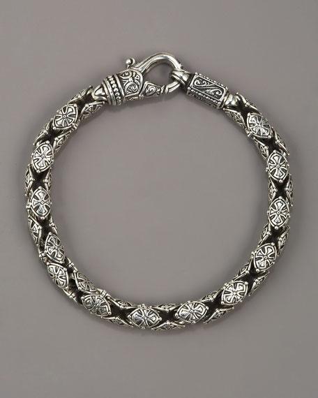 Paganini Shield Chain Bracelet