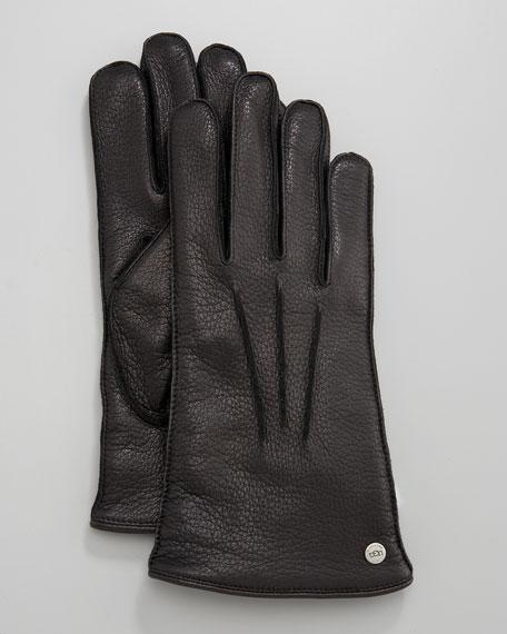 Three-Point Deerskin Gloves