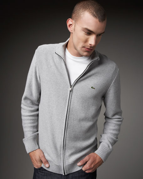 Zip Pima Sweater