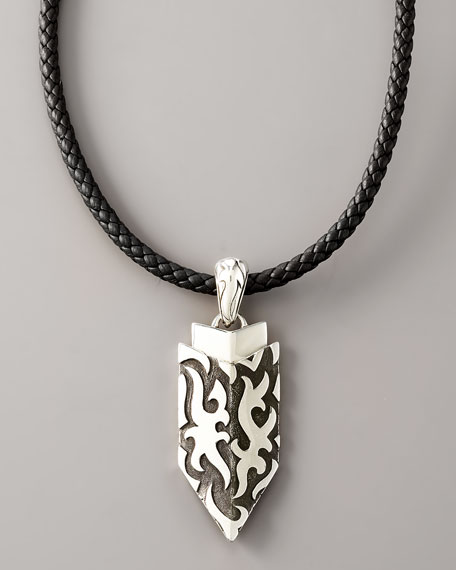 Dayak Shield Drop Necklace