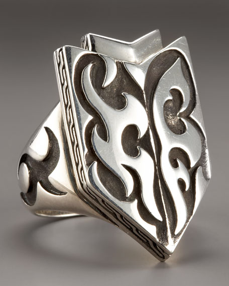 Dayak Shield Ring