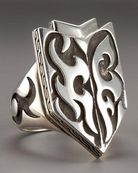 Dayak Shield Ring