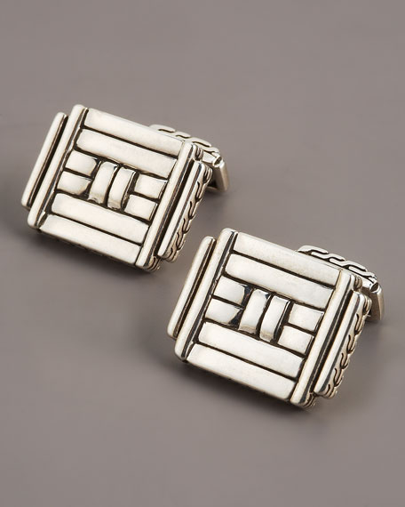 Bedeg Rectangular Cuff Links
