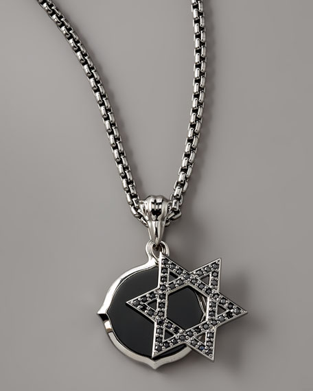Star of David Double Pendant Necklace