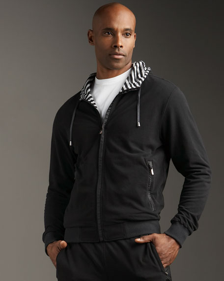 Reversible Hooded Track Jacket