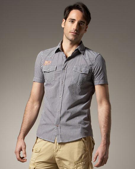 Small-Check Shirt