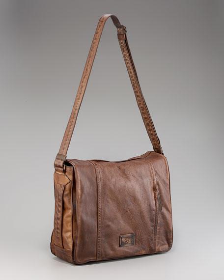 Venna Vintage Messenger Bag