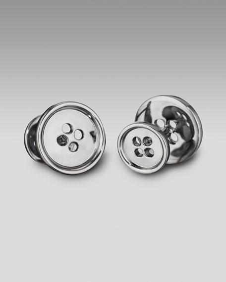 Button Cuff Links
