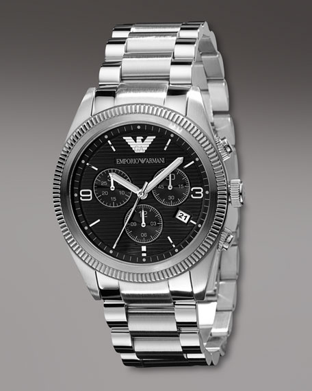 Stainless Steel Chronograph