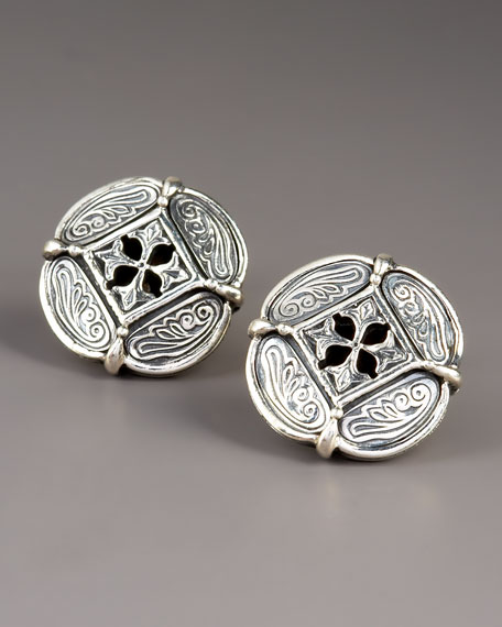 Clover Cuff Links