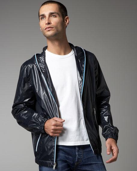 Nilton Hooded Zip Jacket
