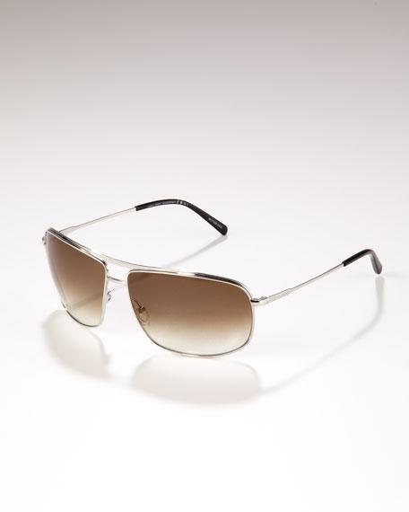 Square Sunglasses, Brown