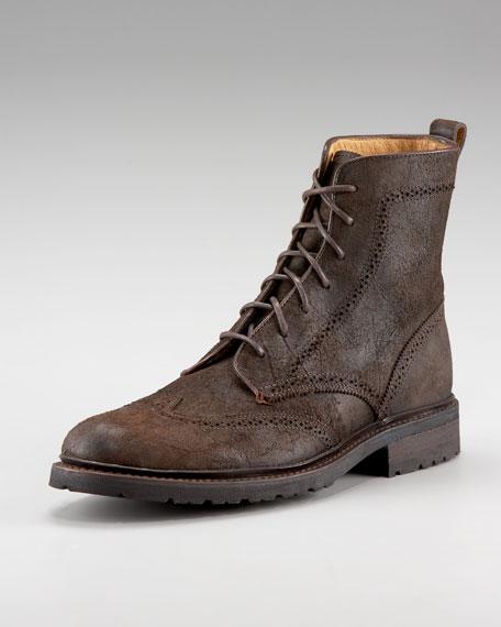 James Lug Wingtip Boot