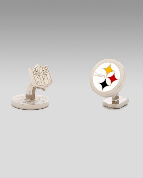 Pittsburgh Steelers Cuff Links