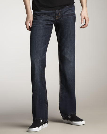 Clifton Wickham Boot-Cut Jeans
