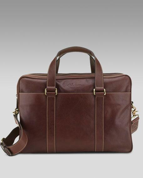 Portage Double-Zip Briefcase