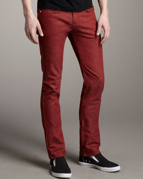 SkinnyGuy Red Stretch Jeans