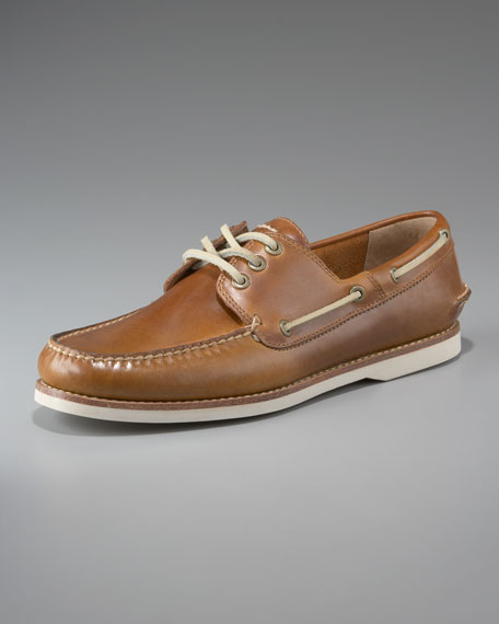 Sully Boat Shoe, Camel