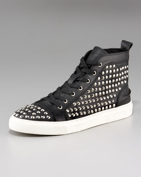 Gabino Studded Hi-Top