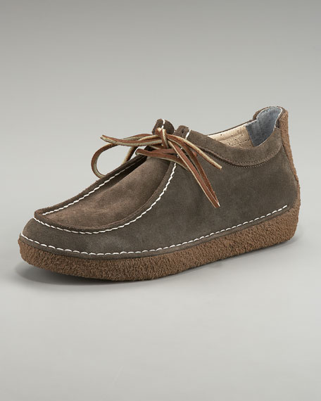 10/61 Two-Eye Suede Oxford