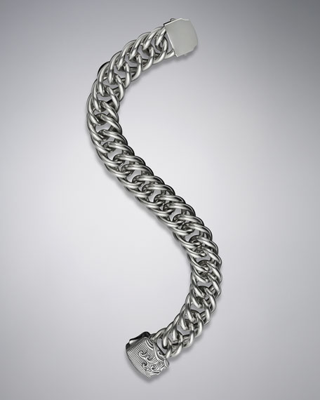 Waves Curb Link Bracelet