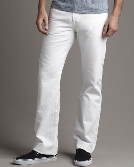 Protege White Jeans