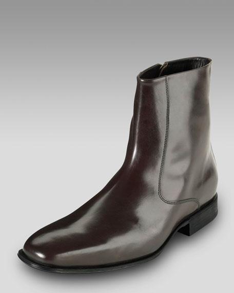 Air Jefferson Zip Boot, Brown