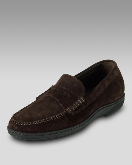 Air Pinch Suede Penny Loafer