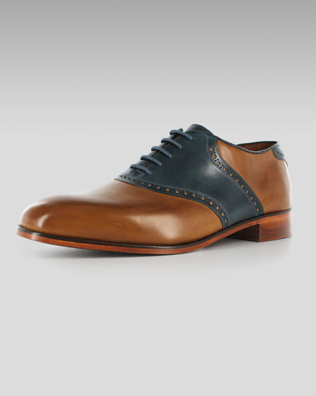 The Saddle, Toffee-Blue