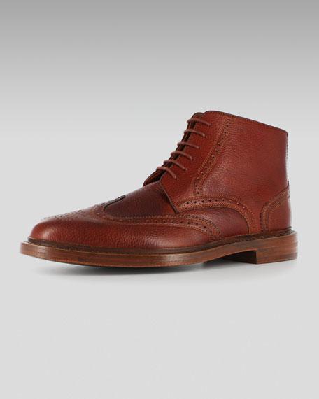 Short Brogue Boot